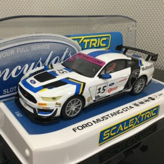 Scalextric C4173 Ford Mustang GT4 #15.