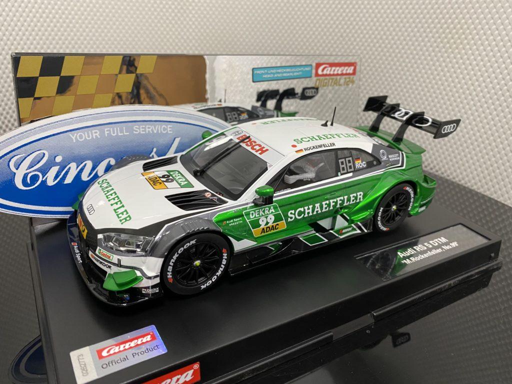 Carrera D124 23900 Audi RS 5 DTM Rockenfeller #99.
