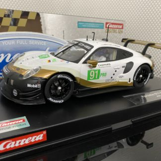 Carrera D124 23891 Porsche 911 RSR #91.