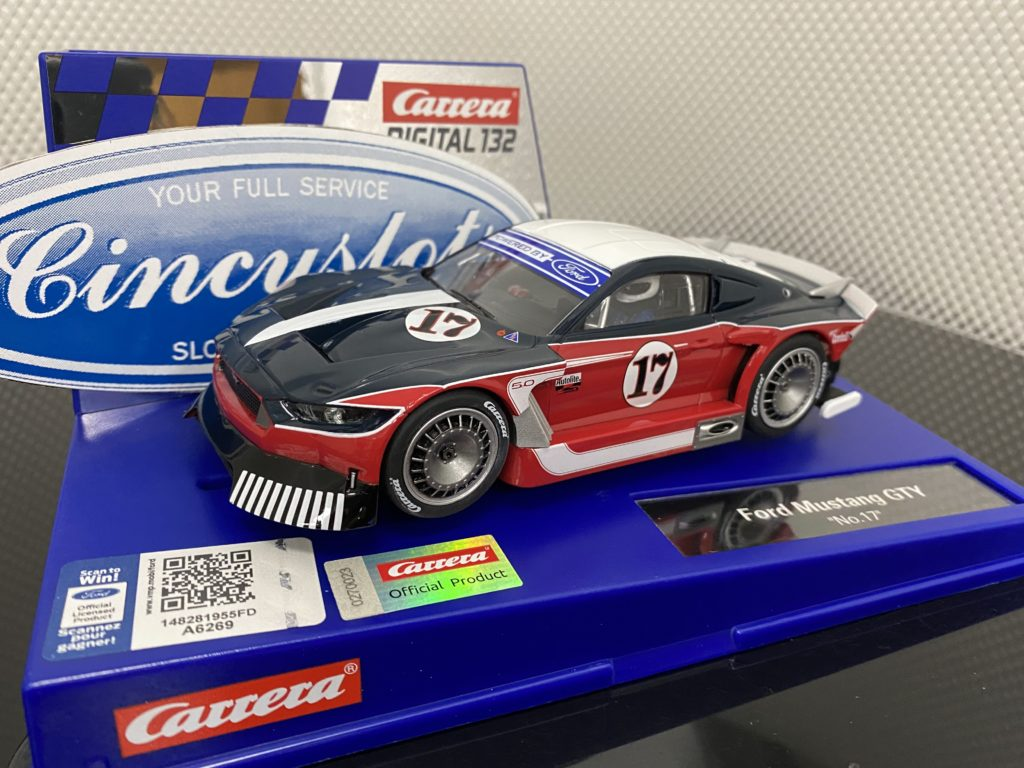 Carrera D132 30939 Ford Mustang GTY #17.