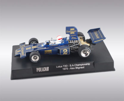Policar CAR02f Lotus 72D No.2 Embassy South African Championship 1975.