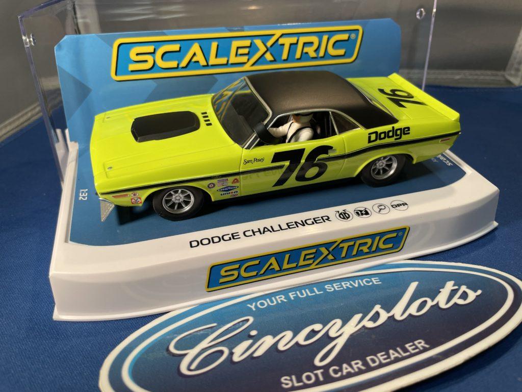 Scalextric C4164 Dodge Challenger Sam Posey.