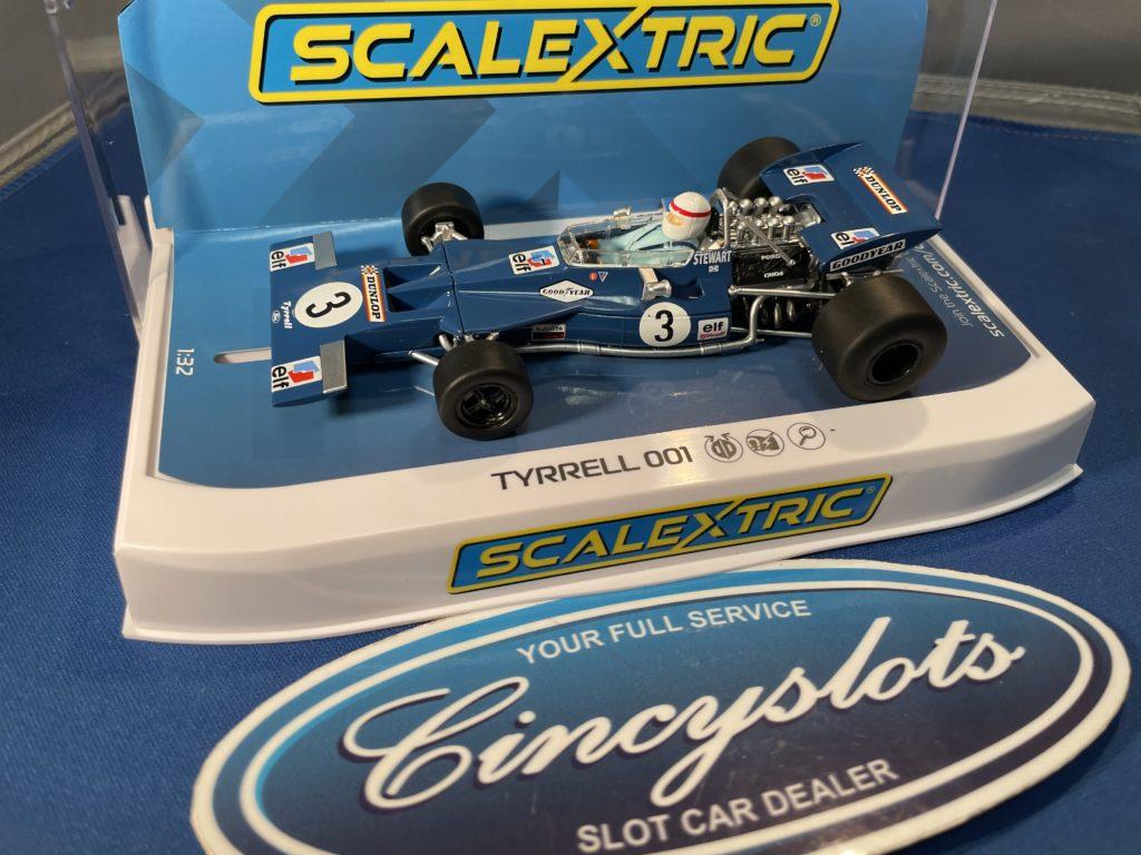 Scalextric C4161 Tyrrell 001 Stewart.