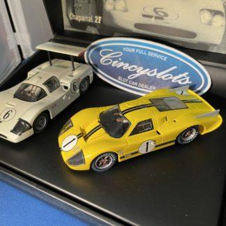 MRRC MC0039 Chaparrel 2F and Ford MKIV 2 car set.