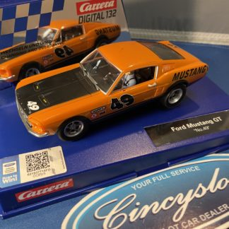 Carrera D132 30722 Ford Mustang GT, Used.