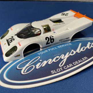 Carrera 1/32 Porsche 917k BODY and Interior, New.