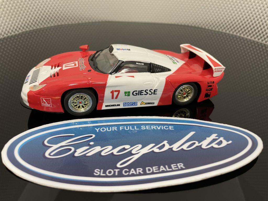 Carrera Evolution 25402 Porsche 911 GT1 Evo #17 Jb Racing' 97. Lightly Used.