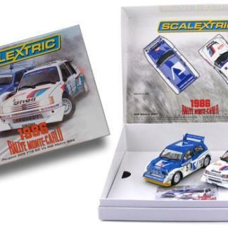 Scalextric C3590A Classic Collection Peugeot 205 T16 E2 & MG Metro 6R4.