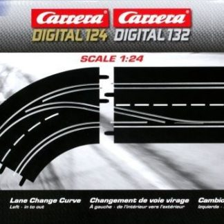 Carrera Digital 30362 Lane Change Curve Left (In to Out)