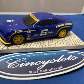 Scalextric 2010 Camaro Sunoco 1/32 Slot Car Used.
