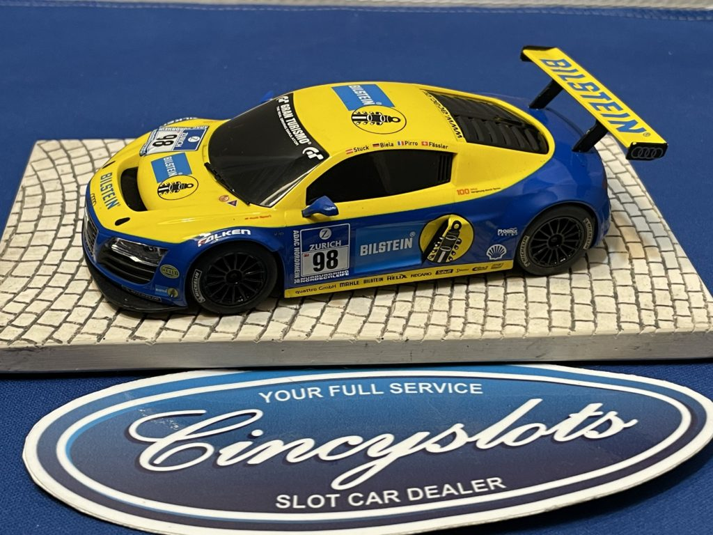 Scalextric Audi R8 1/32 Slot Car Used Bilstein.
