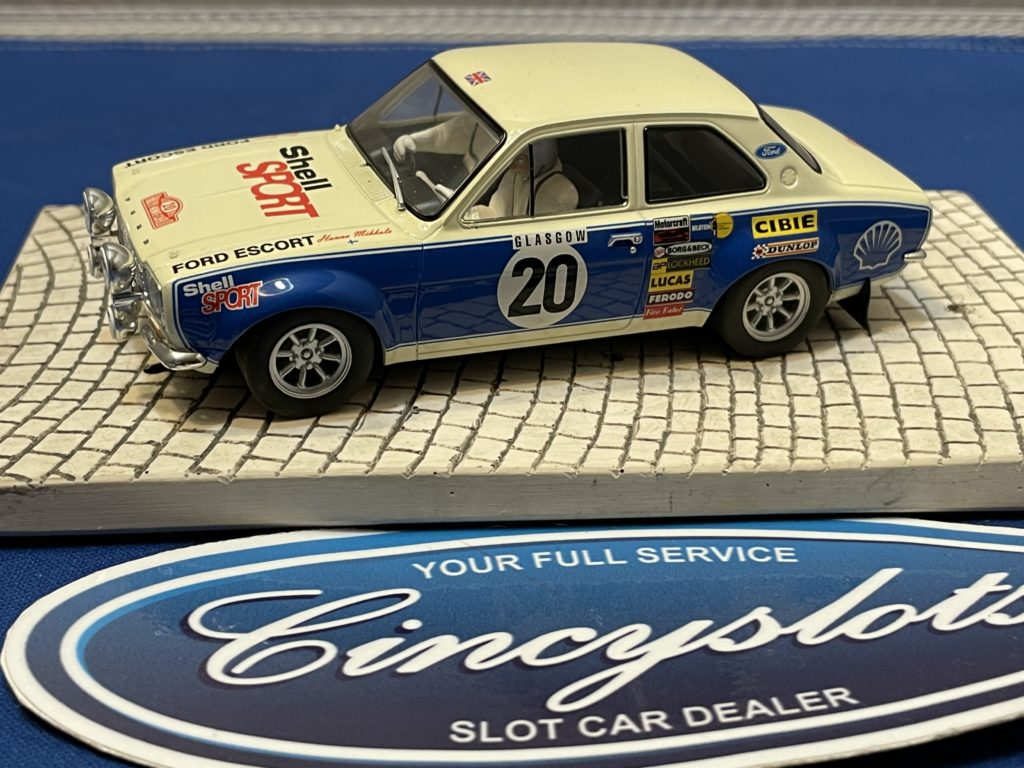 Scalextric Ford Escort Shell Sport 1/32 Slot Car Used.