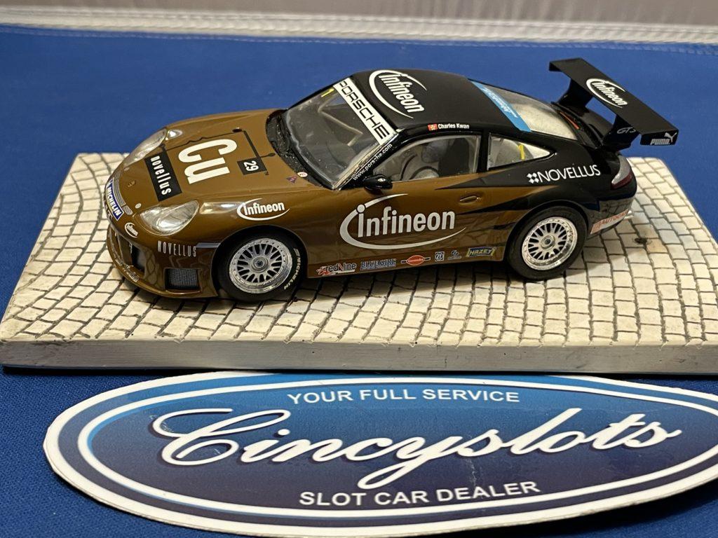 Scalextric Porsche GT3 1/32 Slot Car Infineon Used