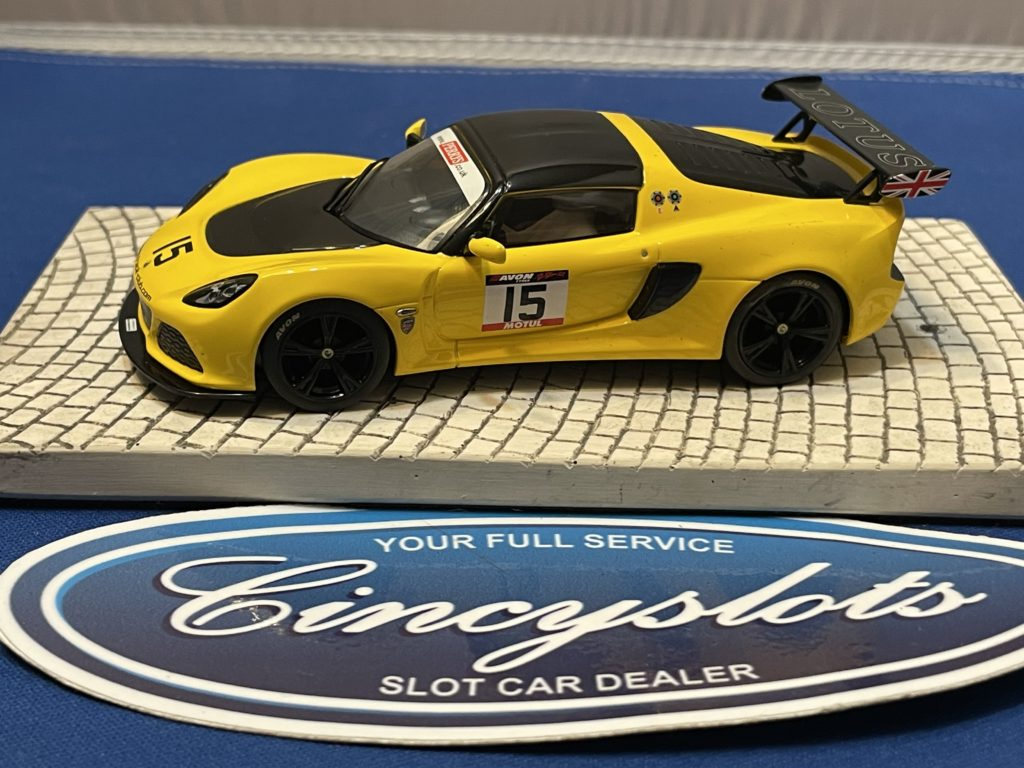 Scalextric Lotus Exige 1/32 Slot Car Used.