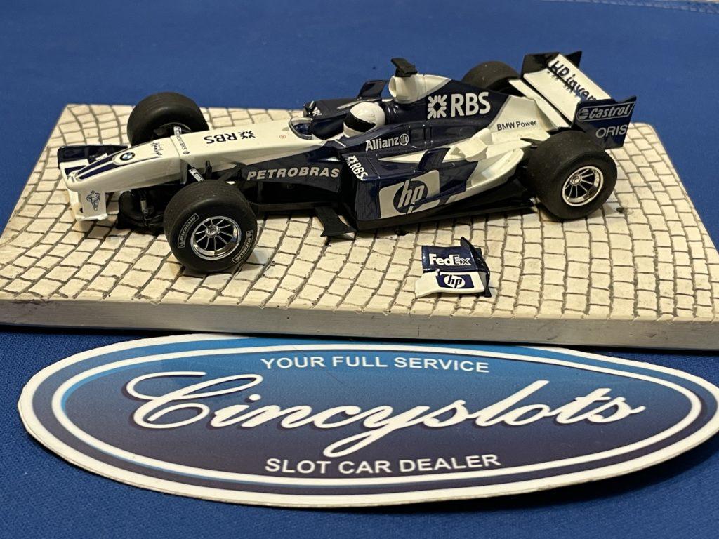 Scalextric BMW F1 1/32 Slot Car Used.
