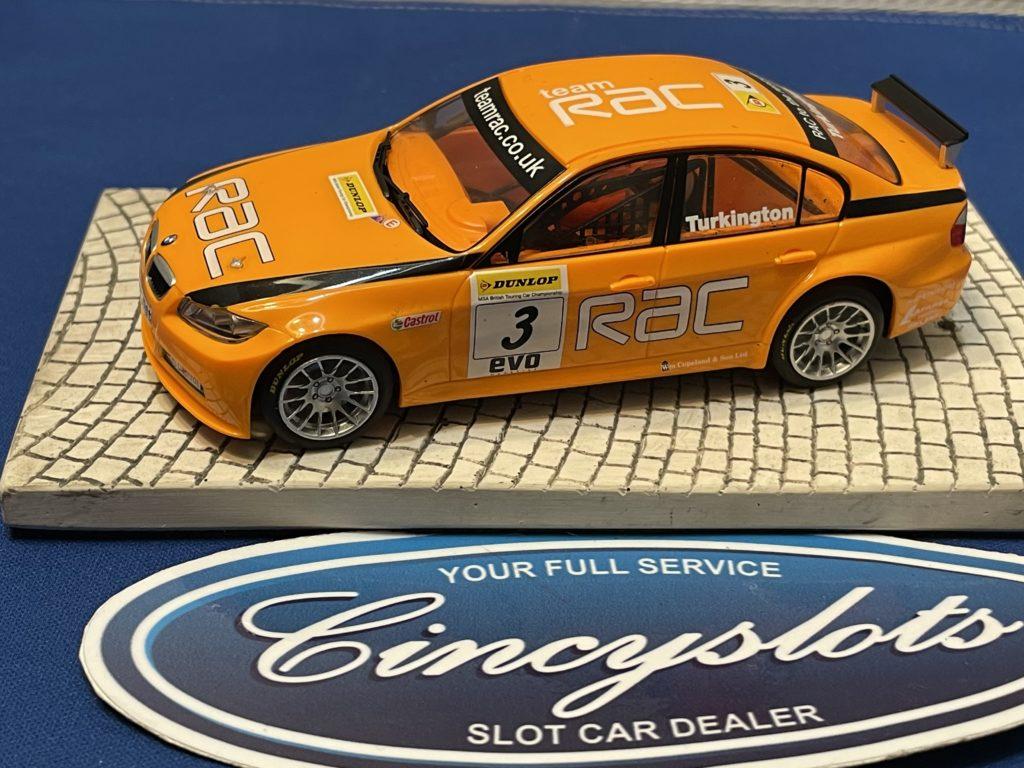 Scalextric BMW 320 1/32 Slot Car Used.