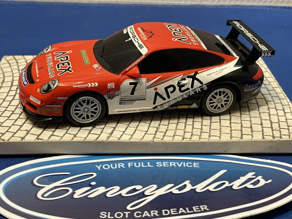 Scalextric Porsche GT3 1/32 Slot Car APEX Used