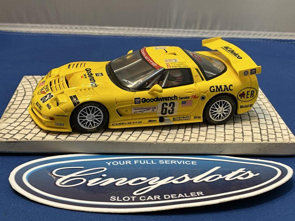 Fly Corvette C5R 1/32 Slot Car Used.