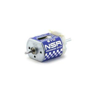 NSR 3043 Shark Motor 25k RPM @ 12V for 1/32 slot car.