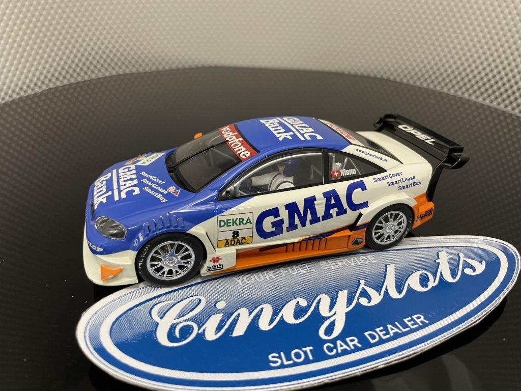 Scalextric DTM OPEL GMAC Blue 1/32 Slot Car.