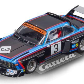 Carrera D132 30923 BMW 3.5 CSL #3 1/32 Slot Car.
