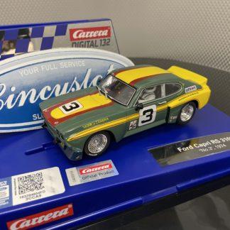 Carrera D132 30953 Ford Capri RS 3100 1/32 Slot Car.
