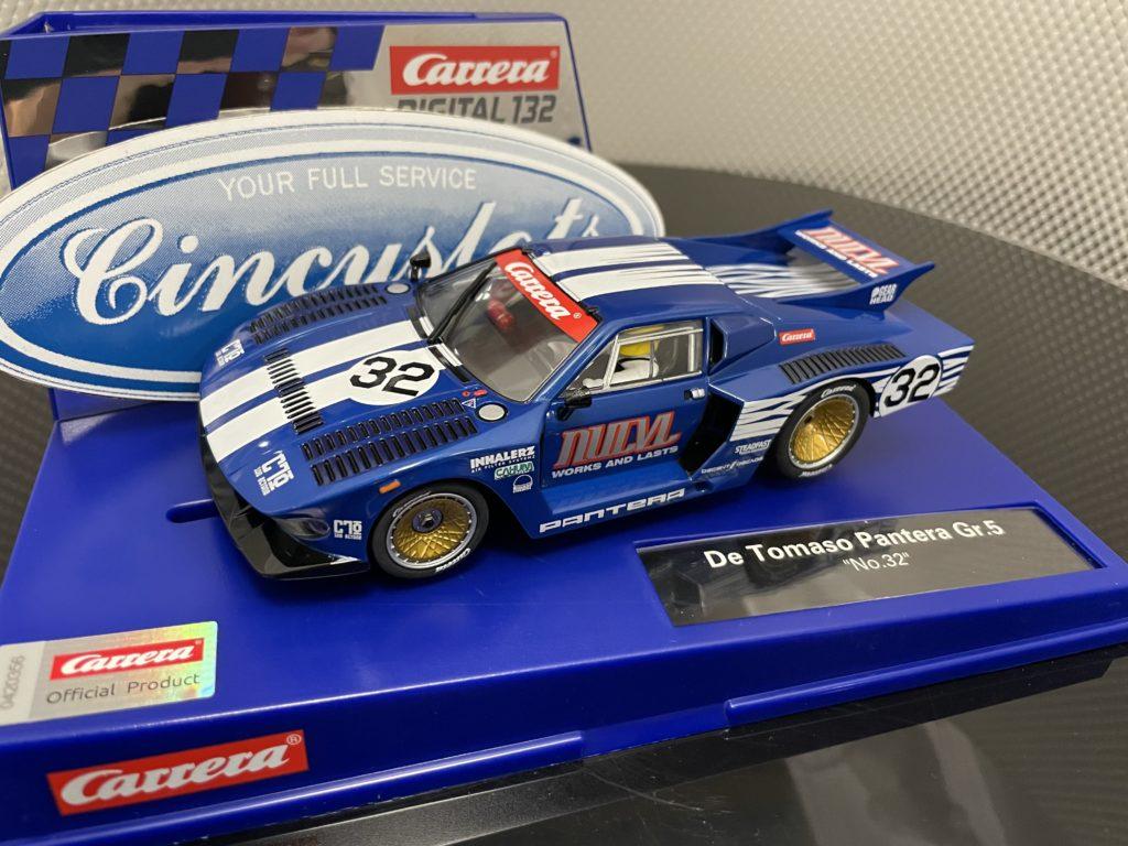 Carrera D132 30990 Ford Pantera De Tomaso #32 1/32 Slot Car.