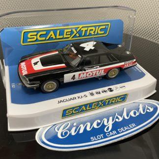 Scalextric C4261 Jaguar XJS #4 1/32 Slot Car.
