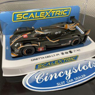 Scalextric C4264 Ginetta G60-LT-P1 #6 1/32 Slot Car.