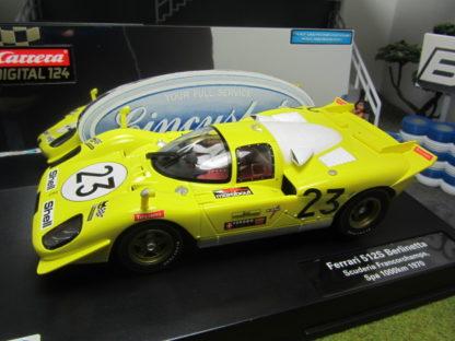 Carrera D124 Ferrari 512S Berlinetta Ecurie Francorchamps Spa 1000km 23789