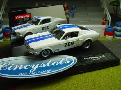 Carrera Evolution 1967 Ford Mustang GT 27450