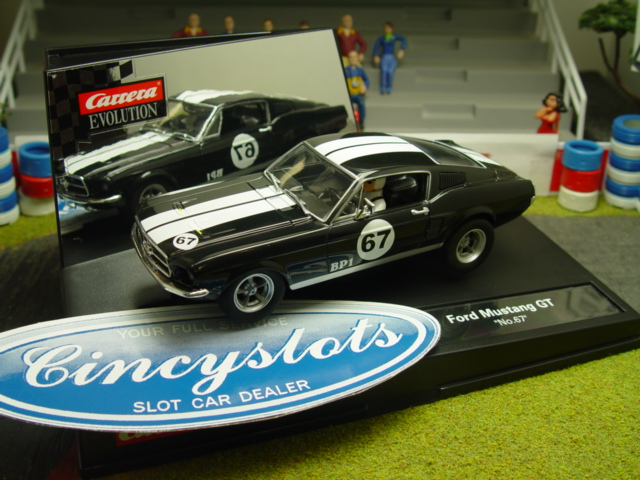 carrera evolution 27451 1967 ford mustang gt. Black Bedroom Furniture Sets. Home Design Ideas