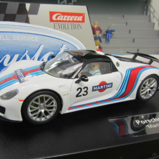 Carrera Evolution 27467 Porsche 918 Spyder Martini Racing