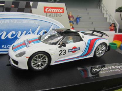 Carrera Evolution 27467 Porsche 918 Spyder Martini Racing
