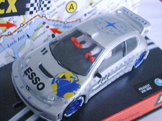 SCX 60250 PEUGEOT 206 WRC N° 99