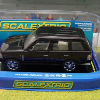 Scalextric C2878 Black Land Rover