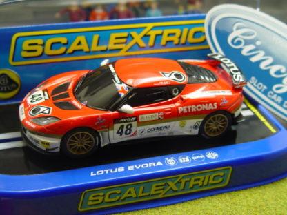 Scalextric C3379 Lotus Evora GT4