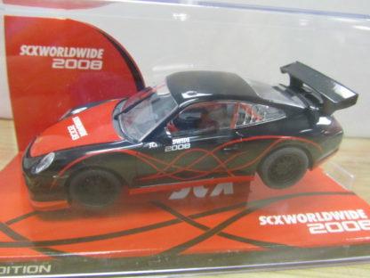 SCX 62820 Worldwide Black Porsche 911 / 997 Club Car 2008 Edition