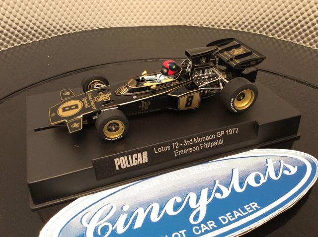 Policar CAR02c Emerson Fittipaldi JPS Lotus