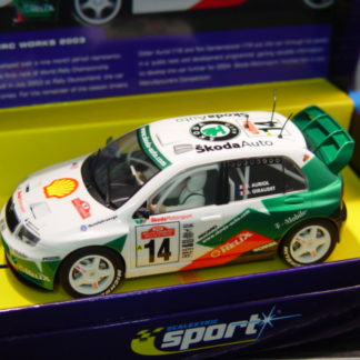 Scalextric C2487A Digital Skoda Fabia WRC Limited Edition