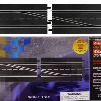 Carrera Digital 30345 lane change section, right