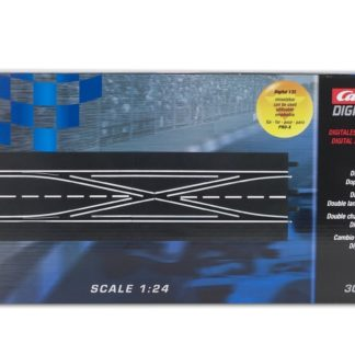 Carrera Digital 30347 double lane change D124 and D132