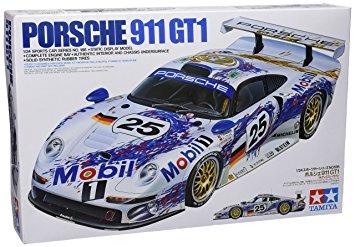 Tamiya 1/24 Mobil Porsche 911 GT1 24186