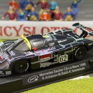 Slot.it SICA06D MERCEDES SAUBER C9 #62 Le Mans 1988 AEG Olympia