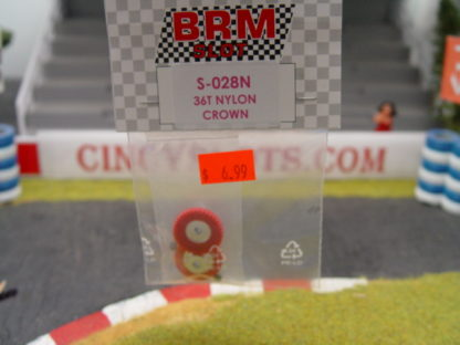 BRM S-028 36 Tooth Crown Gear Red