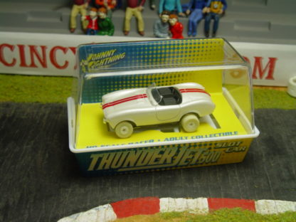 Autoworld Thunderjet Corvette White Lightning