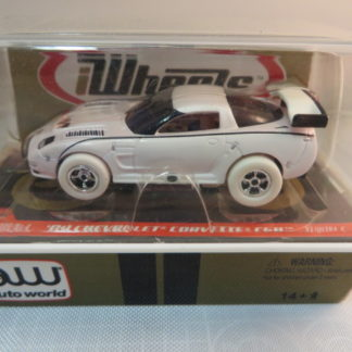 AutoWorld iWheels White Lightning Corvette C5R