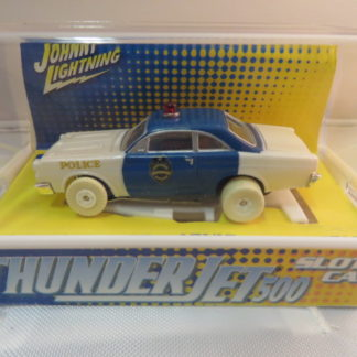 AutoWorld iWheels White Lightning Thunderjet Ford Police Car