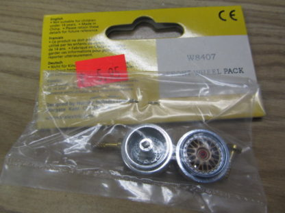 Scalextric W8407 Porsche GT3 Front Wheels Accessory Pack