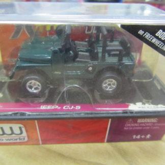 AutoWorld XTraction Jeep CJ-5